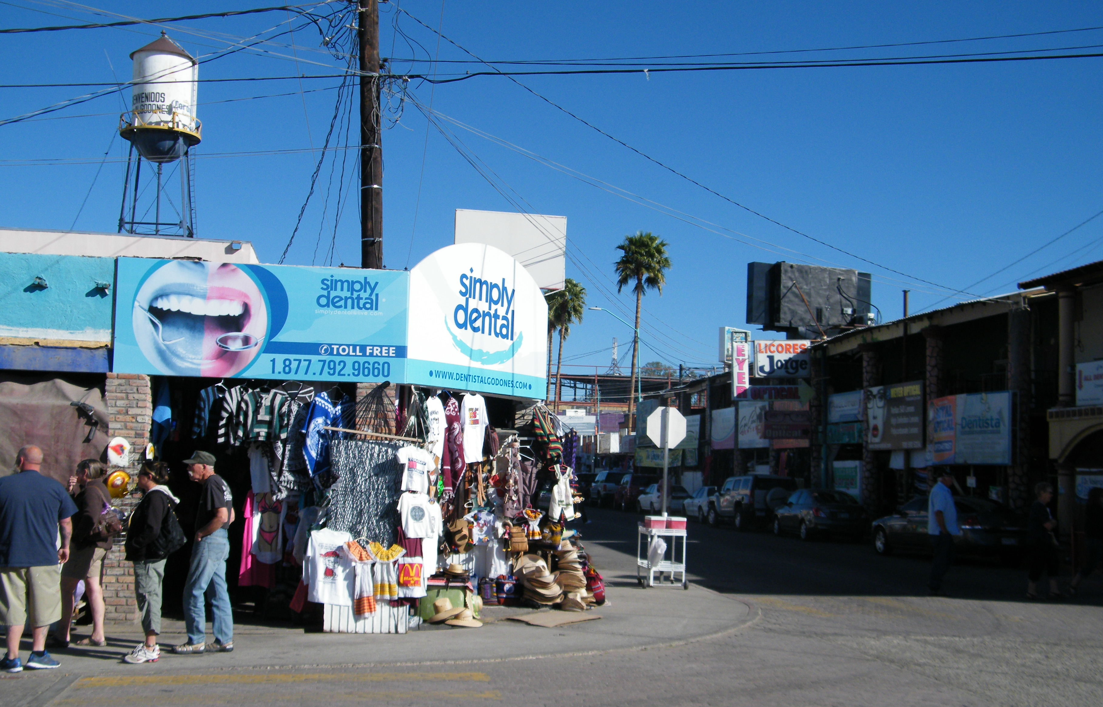 Los Algodones Baja California Mexico The Meandering